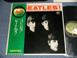 Photo1: THE BEATLES ビートルズ - MEET THE BEATLES ビートルズ ! ( ¥2,000 Mark) (MINT-/MINT-) / JAPAN Used LP with OBI