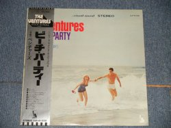 Photo1: THE VENTURES ベンチャーズ - BEACH PARTY (Ex+++/MINT  EDSP) / 1970's JAPAN Used LP with OBI
