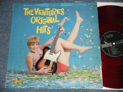 "Photo1: THE VENTURES ベンチャーズ - ORIGINAL HITS オリジナル・ヒッツ (VG++/VG+++l) / 1964 JAPAN ORIGINAL ""RED WAX Vinyl"" used LP"