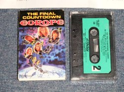Photo1: EUROPE ヨーロッパ - THE FINAL COUNT DOWN ファイナル・カウント・ダウン (Ex+/MINT) / 1986 JAPAN ORIGINAL Used MUSIC CASSETTE TAPE