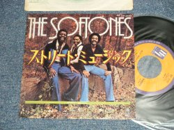 "Photo1: The SOFTONES ソフトーンズ - A) STREET MUSICストリート・ミュージック  B) SILLY BILLY 愚かなビリー (Ex++/Ex++) / 1978 JAPAN ORIGINAL Used 7""45's Single  With PICTURE SLEEVE"