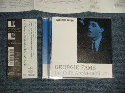 Photo1: GEORGIE FAME ジョージィ・フェイム - FOR CAFE APRES-MIDI フォー・カフェ・アプレミディ (MINT-/MINT) / 2003 JAPAN ORIGINAL Used CD with OBI