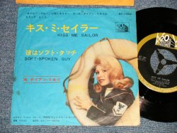 """Photo1: DIANE RENAY ダイアン・リネイ - A) KISS ME SAILOR キス・ミー・セイラー  B) SOFT-SPOKEN GUY 彼はソフトタッチ(Ex/Rx) /1964 JAPAN ORIGINAL Used 7"""" 45 rpm Single With PICTURE Cover"""