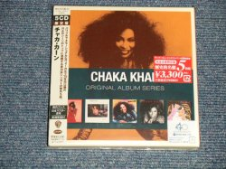 "Photo1: CHAKA KHAN チャカ・カーン - ORIGINAL ALBUM SERIESファイヴ・オリジナル・アルバムズ 限定版 (SEALED) / 1999 JAPAN ORIGINAL ""Mini-LP Paper Sleeve"" ""Brand New Sealed"" 5-CD's SET with OBI"