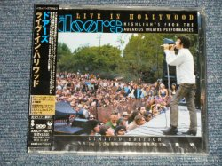 "Photo1: THE DOORS ドアーズ  - LIVE IN HOLLYWOOD (SEALED) / 2002 JAPAN ORIGINAL ""BRAND NEW SEALED"" CD With OBI"