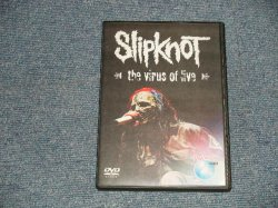 "Photo1: SLIPKNOT - THE VIRUS OF LIVE (NEW) / ""BRAND NEW"" COLLECTORS DVD-R"