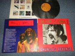 "Photo1: FRANK ZAPPA フランク・ザッパ -  CHUNGA'S REVENGE チュンガの復讐 (Ex++/,MINT-) / 1971 JAPAN  ORIGINAL 1st press ""2000 Yen Mark"" Used LP"