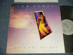 "Photo1: TOM SCOTT トム・スコット - ONE NIGHT ONE DAY (MINT/MINT)/ 1986 JAPAN ORIGINAL ""PROMO"" Used LP"