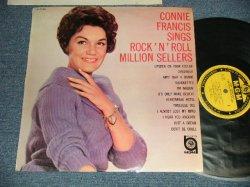 Photo1: CONNIE FRANCIS  コニー・フランシス - SINGS ROCK 'N' ROLL MILLION SELLERS ロックを歌う (Ex++/Ex++ Looks:Ex+++ BB) /1963 JAPAN ORIGINAL Used LP