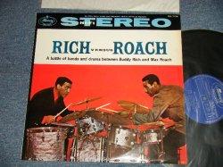 Photo1: BUDDY RICH バディ・リッチ / MAX ROACH マックス・ローチ - RICH VERSUS ROACH リッチ対ローチ(Ex++, Ex+/Ex++) / 1959 JAPAN ORIGINAL? Used LP