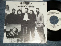 """Photo1: TOPANGA EXPRESS トパンガ・エクスプレス - A) VOLVISTE A QUERER 届かぬ想い  B) non (One side)(Ex+++/Ex++ SWOFC) /1989 JAPAN ORIGINAL """"PROMO ONLY"""" Used 7"""" 45rpm Single"""
