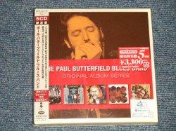"Photo1: The PAUL BUTTERFIELD BLUE BAND ポール・バターフィールド・ブルース・バンド - ORIGINAL ALBUM SERIESファイヴ・オリジナル・アルバムズ 限定版 (SEALED) / 1999 JAPAN ORIGINAL ""Mini-LP Paper Sleeve"" ""Brand New Sealed"" 5-CD's SET with OBI"