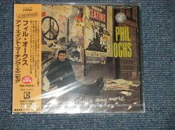 """Photo1: PHIL OCHS フィル。オクス - I AIN'T MARCHING ANY MORE (SEALED) / 1999 JAPAN  """"BRAND NEW SEALED"""" CD With OBI"""