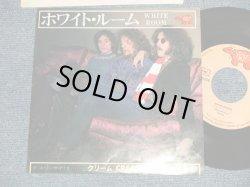 "Photo1: CREAM クリーム - A) WHITE ROOM ホワイト・ルーム  B) THOSE WERE THE DAYS ゾーズ・ワー・ザ・デイズ (Ex+/Ex++) /1976 JAPAN REISSUE Used 7"" Single"