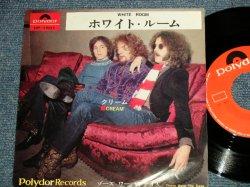 "Photo1: CREAM クリーム - A) WHITE ROOM ホワイト・ルーム  B) THOSE WERE THE DAYS ゾーズ・ワー・ザ・デイズ (Ex+/Ex++) / 1969 JAPAN ORIGINAL Used  7"" Single"
