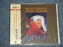 "Photo1: MILES DAVIS $ MICHEL LEGRAND マイルス・デイビス デイヴィス & ミッシェル・ルグラン- DINGO (SEALED) / 1991 JAPAN ""PROMO"" ""BRAND NEW SEALED"" CD With OBI"