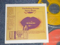 "Photo1: THE ROLLING STONES  - NASTY MUSIC (MINT/MINT) / COLLECTOR'S (BOOT) ""MINI-LP PAPER SLEEVE""  Used 2-CD"