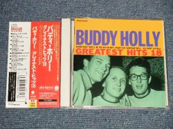 Photo1: BUDDY HOLLY バディ・ホリー  - GREATEST HITS 18 (MINT/MINT) /  1993 JAPAN Used CD With OBI