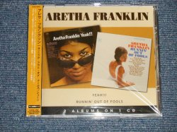 """Photo1: ARETHA FRANKLIN アレサ・フランクリン  - RUNNIN' OUT OF FOOLS + YEAH!! (SEALED) /  2008 US AMERICA  CD + Japan OBI and LINER  """"Brand New Sealed"""" CD with OBI"""