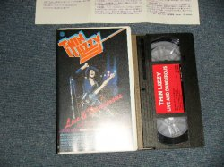 Photo1: THIN LIZZY シン・リジィ - LIVE & DANGEROUS (MINT-/MINT)  / 1989 JAPAN ORIGINAL Used  VIDEO  [VHS]