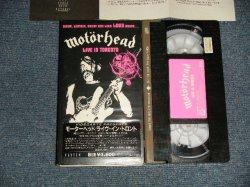 Photo1: MOTORHEAD モーターヘッド - LIVE IN TORONTO (MINT-/MINT)  / 1990 JAPAN ORIGINAL Used  VIDEO  [VHS]