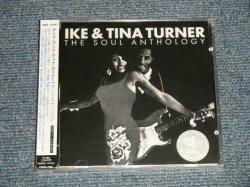 """Photo1: IKE & TINA TURNER アイク&ティナ・ターナー - THE SOUL ANTHOLOGY (SEALED) / 2006 UK + JAPAN LINER & OBI """"BRAND NEW SEALED"""" CD With OBI"""