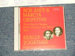 Photo1: BOB ANDY & MARCIA GRIFFITHS ボブ・アンディ&マーシャ・グリフィス  - REALLY TOGETHER  (MINT-/MINT-) /1993 JAPAN ORIGINAL Used CD