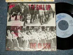 "Photo1: The CLASH  ザ・クラッシュ - A) THE CALL UP ザ・コール・アップ  B) STOP THE WORLD ストップ・・ザ・ワールド (Ex+.MINT- STOBC, BEND) / 1980 JAPAN ORIGINAL ""PROMO"" Used 7"" Single"