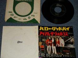 "Photo1: The BEATLES ビートルズ - A) HELLO, GOODBYE ハロー・グッドバイ  B) I AM THE WALRUS  (Ex+/Ex+) /1968 ¥370 Mark JAPAN Used 7"" Single"