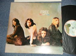 "Photo1: FREE フリー - FIRE AND WATER ファイアー・アンド・ウォーター(Ex+/Ex+++) / 1972 JAPAN ORIGINAL ""PINK RIM Label"" Used Used  LP"