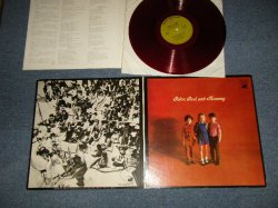 """Photo1: PETER PAUL & MARY PP&M ピーター・ポール・アンド・マリー  - PETER PAUL & MOMMY PP&M ピーター・ポール・アンド・マミー (Ex+++/Ex++) / 1969 JAPAN ORIGINAL """"RED Vinyl Wax"""" Used LP"""