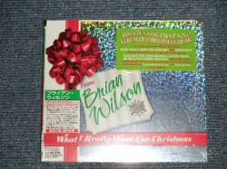 """Photo1: BRIAN WILSON ブライアン・ウイルソン - WHAT I REALLI WANT FOR CHRISTMAS (SEALED) / 2005 IMPORT + JAPAN ORIGINAL 輸入盤国内仕様 """"Brand New Sealed""""  CD"""