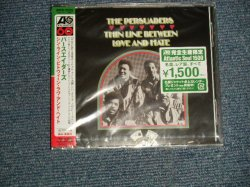 """Photo1:  The PERSUADER パースエイダーズ - THIN LINE BETWEEN LOVE AND HATE シン・ライン・ビトウィーン・ラヴ・アンド・ヘイト  (SEALED) / 2006 IJAPAN  """"BRAND NEW SEALED"""" CD With OBI"""