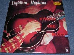 Photo1: LIGHTNIN' HOPKINS ライトニン・ホプキンス - STRUMS THE BLUES イン・ザ・ビギニング (Ex+, Ex-/MINT-) / 1975 Japan MONO Used LP