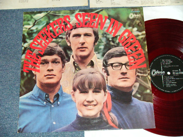 The Seekers Seen In Green 165 2000 Price Mark Ex Ex